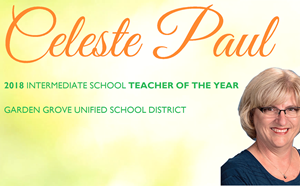 2018 Teacher of the Year! - article thumnail image