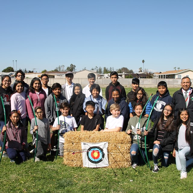 Precise, focused, and always on point. Mr Lopez's Archery Club has honed the concentration of these marksmen.