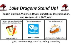 Lake Dragons Stand Up! - article thumnail image