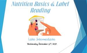 Nutrition Basics & Label Reading - article thumnail image
